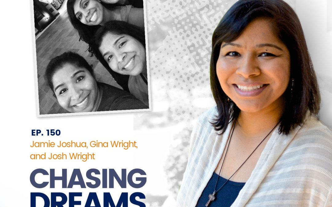 Ep. 150: Jamie Joshua, Gina Wright & Josh Wright A Chat w/Aimee J.'s Family